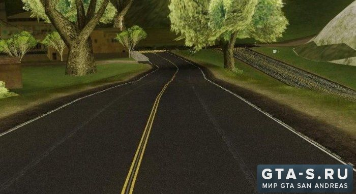 HD Roads GTA SA