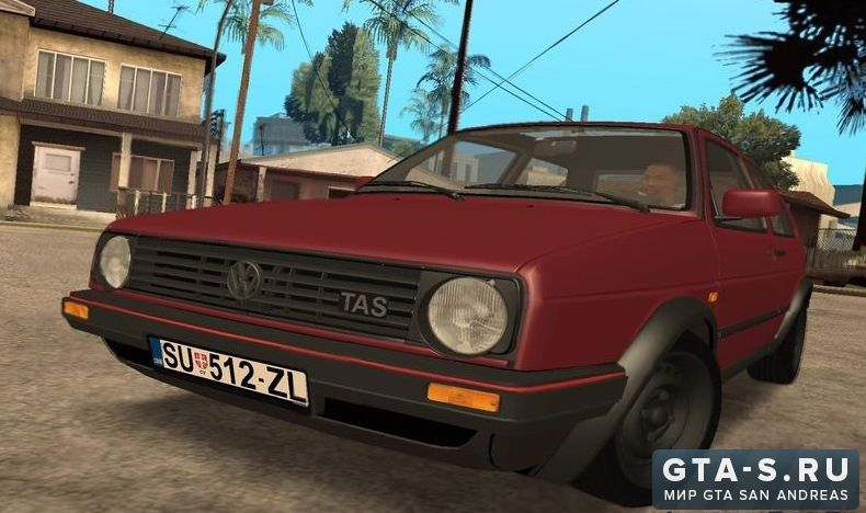 Volkswagen Golf для gta