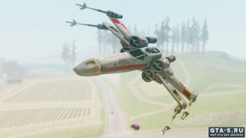 Star Wars Battlefront 1/2 X-Wing для GTA San Andreas
